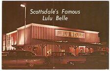 LULU BELLE RESTAURANT BAR Scottsdale Arizona NIGHT 1950's PETLEY Automobiles PC