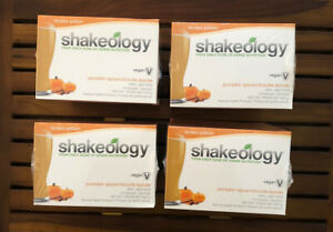 Pumpkin Spice Shakeology Vegan (FOUR BOXES!!) Sealed See Pics - BEACHBODY!!