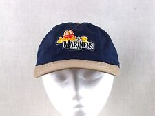 "Vintage Seattle Mariners ""Junior Mariners Club"" Youth Baseball Cap McDonalds"
