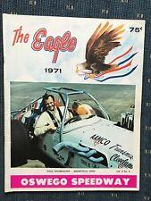 1971 Oswego Speedway Program Vol.8 #4 Paul Baumhauer