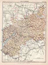 OLD ORDNANCE SURVEY MAP HARROGATE 1890 CHELTENHAM CRESCENT VICTORIA AVENUE