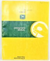 John Deere 75 Loader Operator's Manual  OM-W21459 Issue C9