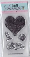 LOVE & HEARTS - Hot Off The Press (HOTP) - Mini Clear Stamp Set