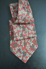 Hermes 7278 MA Copper 100% Authentic Tie