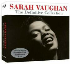Sarah Vaughan Definitive Collection 3-CD NEW SEALED Remastered Jazz Summertime+