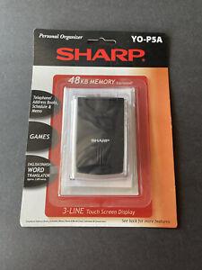 Sharp Personal Organizer PDA Touch Screen Translator Games 48KB Memory YO-P5A