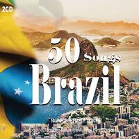 2CD 50 Canciones Brasil Música Brasileño Latina Toquinho Stan Getz Elza Soares