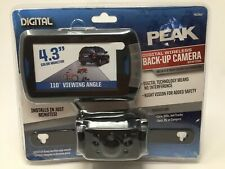 ​Peak Digital Wireless Backup Camera w/ Color LCD Monitor and Night Vision NEW