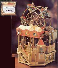 RARE Enesco Victorian Era Ferris Wheel Engine Moves Action/Lites Music Box