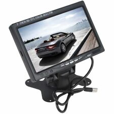 TV TELEVISORE MONITOR LCD DIGITALE 7 TFT VIDEOSORVEGLIANZA AV VGA 2 CANALI HDMI