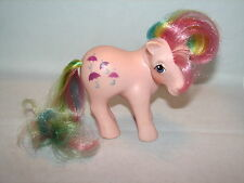 VTG My Little Pony Rainbow Parasol Glitter Umbrellas 1983 A