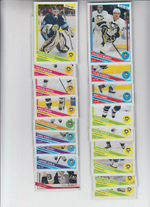 13/14 OPC Pittsburgh Penguins 18 card Team Set incl. RC - Crosby Bennett RC +