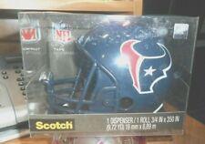 Scotch Magic Tape Dispenser Houston Texans football Helmet NFL BRAND NEW