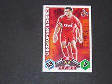 SCHORCH 1.FC KÖLN TOPPS MATCH ATTAX PANINI FOOTBALL BUNDESLIGA 2010-2011