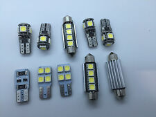 Porsche Carrera Turbo 911 996 FULL LED Interior Lights 10 pcs SMD Bulbs White