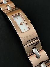 DKNY NY2141 Women's Beekman Rose Gold Stainless Steel Bracelet Watch NWT Box
