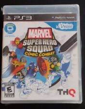 Marvel Super Hero Squad Comic Combat PlayStation 3, 2011 uDraw Video Game New