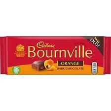 Cadbury Bournville Orange 100 g (boîte de 17 x 100 g) l'ultime Cadeau-Chenilles ...