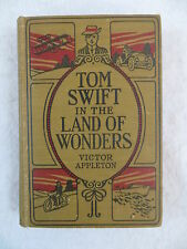 Victor Appleton TOM SWIFT IN THE LAND OF WONDERS Grosset and Dunlap c. 1917