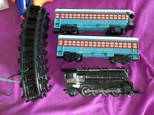 Lionel Polar Express Train Set Locomotive, Two Coaches, & Track Fully Functional