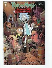 RICK & MORTY VS DUNGEONS & DRAGONS # 1 Variant 1:25 Cover NM