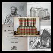 L'UNIVERSO STORIA E DESCRIZIONE DEI POPOLI 22 voll 1830 ca. Tavole Carte Viaggi