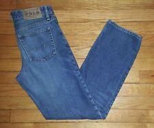 Ralph Lauren Polo Jeans Blue Boys Sz 18 30x30 100% Cotton Denim Blue p3021