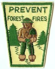 Vintage Smokey The Bear Patch USFS Fire Department
