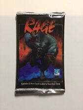 Rage The Werewolf Limited Edition Booster Pack from Box NEW Card Game Apocalypse
