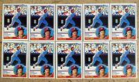 1983 Topps #300 - Mike Schmidt - Philadelphia Phillies HOF - 10ct Card Lot