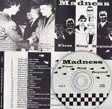 MADNESS - FIRST STEP BEYOND - 1999 CD OF UNIQUE DEMOS & RARITIES - SKA TWO TONE