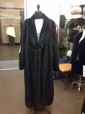 "Neiman Marcus BlackGlama Female Mink 52"" Coat PLUS SIZE"