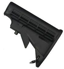 Field Sport Commercial 6 Position Butt Stock Buttstock Black Carbine
