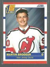 1990-91 Score #439 Martin Brodeur RC (ref 62889)
