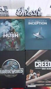 Lot de 4 Films en Steelbook Blu-ray
