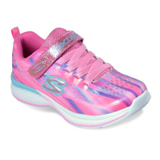 Skechers Girl's Pink Jumpin Jams Dream Runner Shoes Size 3