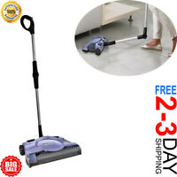 "NEW Swivel Rechargeable Floor Carpet Sweeper 12"" Cordless Stick Vacuum Cleaner"