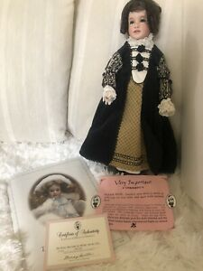 Wendy Lawton The Glove Marriage of Anneke Van De Lijn Doll 150/150