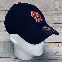 St. Louis Cardinals MLB '47 Brand Adjustable Strapback OSFA Cap Hat Navy NWT