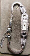 Platinum Diamond Swiss Croton Lady's  watch