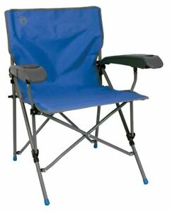 Coleman Camping Chair Ver-Tech Fishing Folding Cup Holder Festival Steel and Bag