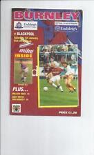 Blackpool Away Team Division 2 Football Programmes
