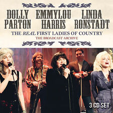 DOLLY PARTON LINDA RONSTADT EMMYLOU HARRIS New 2017 LIVE CONCERTS 3 CD BOXSET