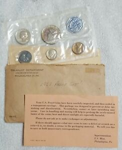 TONED 1961 MINT SILVER PROOF SET ~ NICELY TONED ~ MUST SEE THIS SET ~