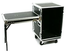 "OSP 16 Space ATA Rack Case 20"" Deep ATA Flight Amp Road Case w/ Lid Table"
