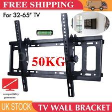 TV Wall Bracket Mount Tilt LED LCD VESA For 32 40 42 50 55 60 65 inch TV