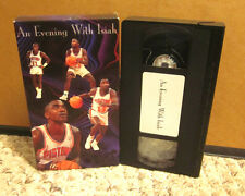 AN EVENING WITH ISIAH THOMAS basketball VHS Detroit Pistons guard
