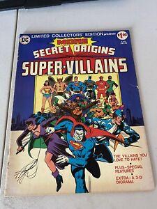 1976 DC More Secret Origins Super Villains C45 Treasury Edition Comics VG (4.0)
