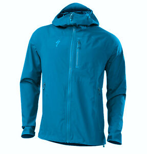 Specialized Men's Deflect H2O Mountain Cycling Jacket Marine Blue - Medium