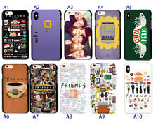 Friends Tv Show Door Central Perk Soft TPU Case Cover For iphone 7 Plus XR XS 11